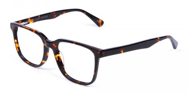 Tortoiseshell Round Eyeglasses - 2