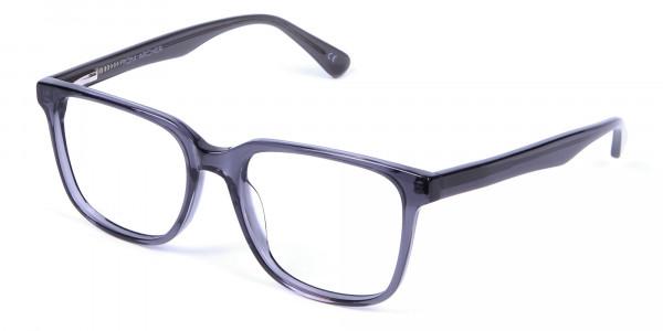 Transparent Grey Glasses - 2