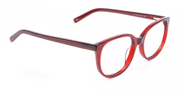 Indulging Designer Frame in Cherry Red, Online - 1