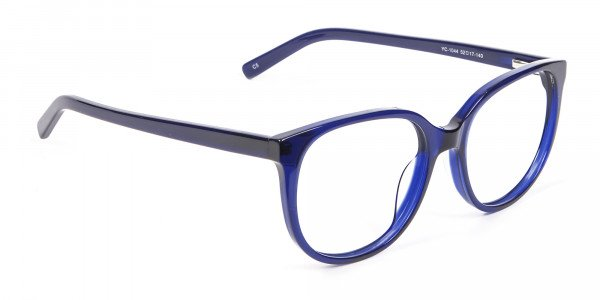 Clever Look with Navy Blue Frame - 1