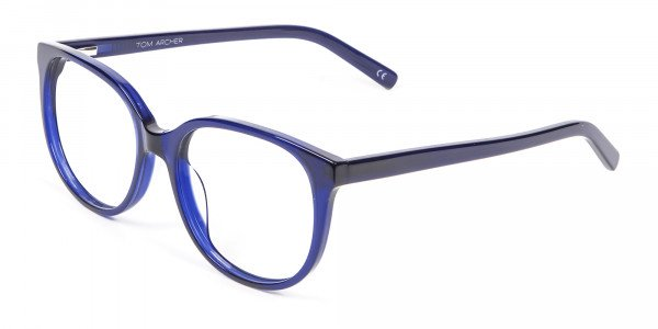 Clever Look with Navy Blue Frame - 2