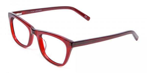 Cherry Wine Cat Eye Glasses - 2