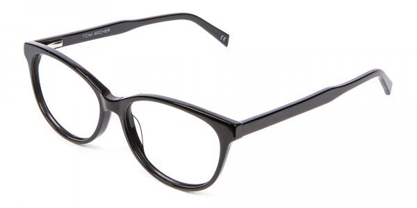 Black Cat Eye Glasses - 2