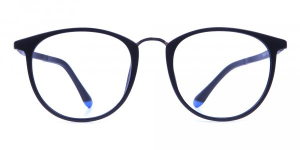 Black Matte Funky Glasses