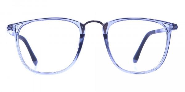 Transparent Blue Frames