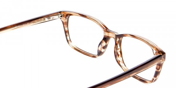 Crystal Brown Glasses -5