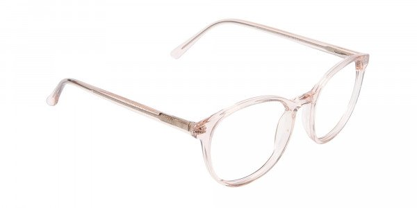 Sweet Pink and Translucent Glasses-2