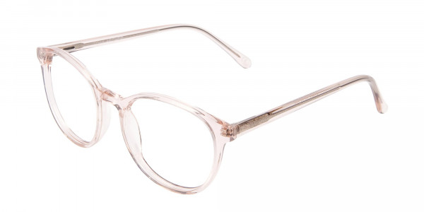 Sweet Pink and Translucent Glasses-3