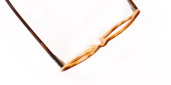Caramel Brown Wayfarer Acetate Eyeglasses-6