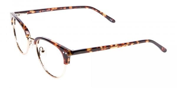 Havana Tortoise and Gold Glasses -3