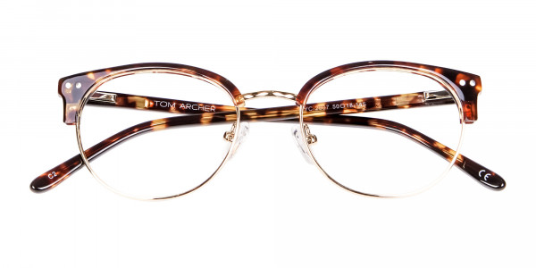 Havana Tortoise and Gold Glasses -6