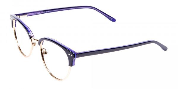 Violet Black Eyeglasses -3