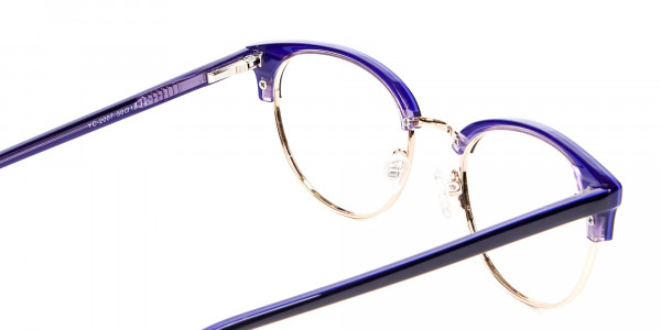 Violet Black Eyeglasses -5