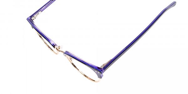 Violet Black Eyeglasses -6