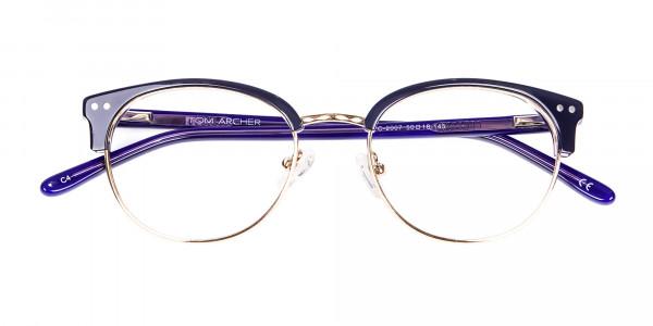 Violet Black Eyeglasses -7