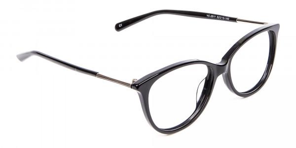 Cool Black Cat Eye Glasses -2