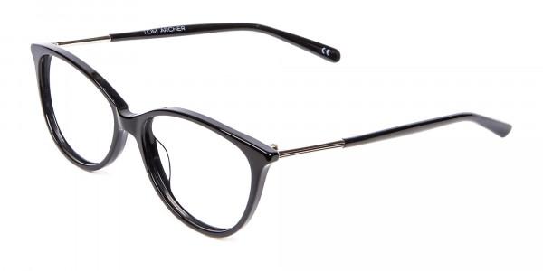 Cool Black Cat Eye Glasses -3