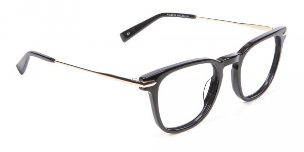 Rectangular Glasses with Round Edges - 1