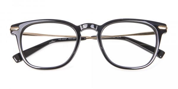 Rectangular Glasses with Round Edges - 5