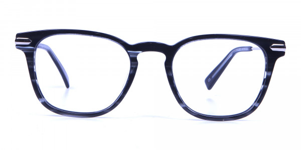 Stripe Glasses in Square Style with New Sensation
