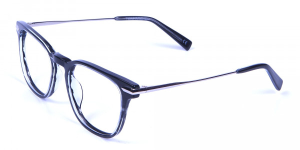 Stripe Glasses in Square Style with New Sensation - 2