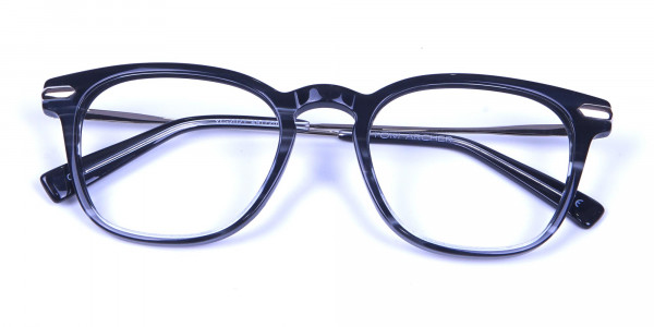 Stripe Glasses in Square Style with New Sensation - 6