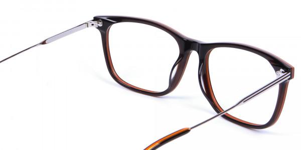 Colour Mixed Rectangular Glasses - 5