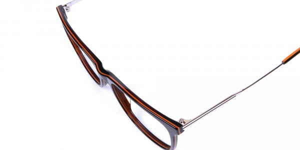 Colour Mixed Rectangular Glasses - 6