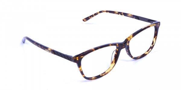 Warm-toned Glasses in Tortoiseshell - 1