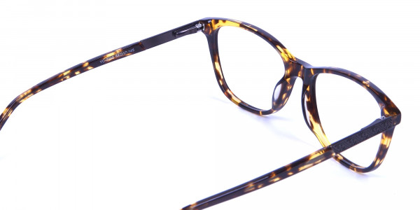 Warm-toned Glasses in Tortoiseshell - 4
