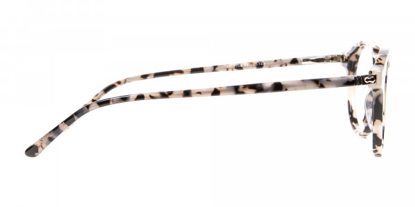 Ivory Tortoiseshell Eyeglasses - 3