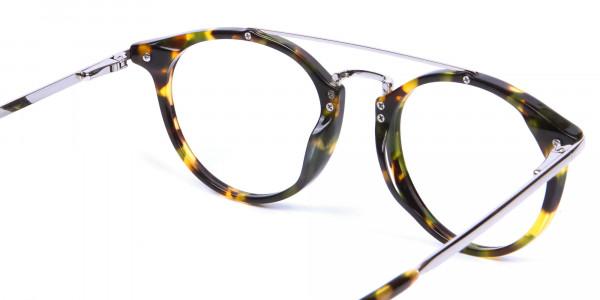 Double Bridge Eyeglasses - 4