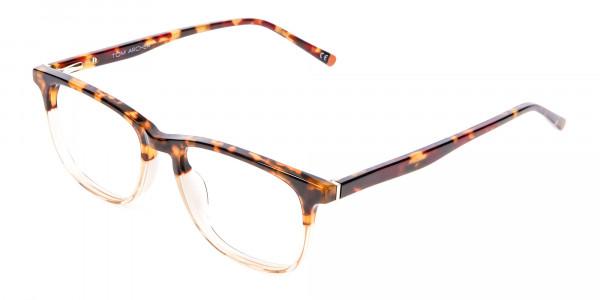 Tortoiseshell Dual-Toned Designer Glasses - 3