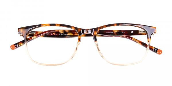 Tortoiseshell Dual-Toned Designer Glasses - 6