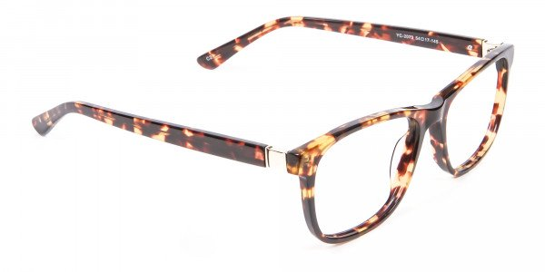 Glasses in the Tortoiseshell with New Chemistry - 1
