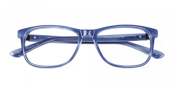 Glossy Blue Frame from In Trend Collection - 6