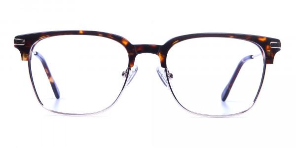 Browline Glasses in Havana and Tortoiseshell