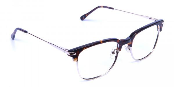 Browline Glasses in Havana and Tortoiseshell -1