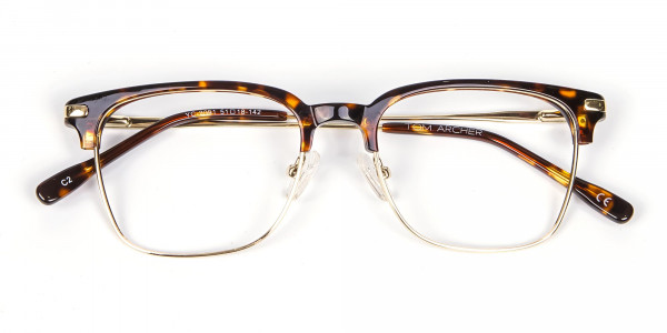 Browline Glasses in Havana and Tortoiseshell -5