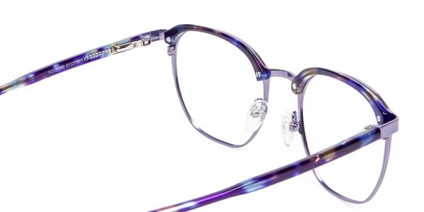Fashion Round Metal Glasses - 4