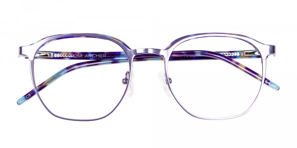 Fashion Round Metal Glasses - 5