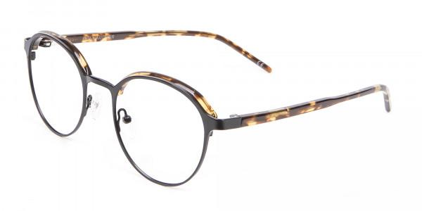 Tortoiseshell Round & Metal Glasses - 2