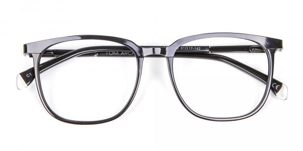 Wayfarer & Square Black Glasses -5