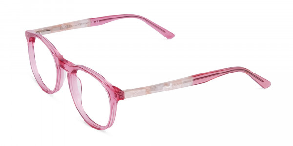 Crystal-and-Pink-Round-Glasses-Frame-3