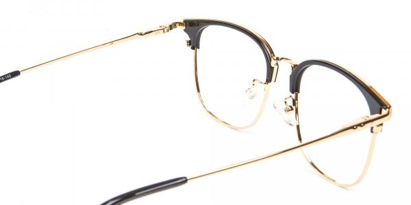 classic square browline frames - 4