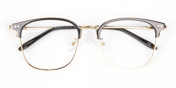 classic square browline frames - 5