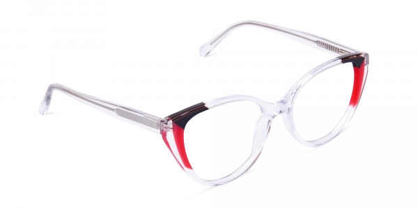 Crystal-Clear-and-Black-Red-Wings-Cat-Eye-Glasses-2