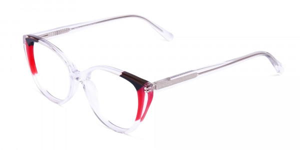 Crystal-Clear-and-Black-Red-Wings-Cat-Eye-Glasses-3