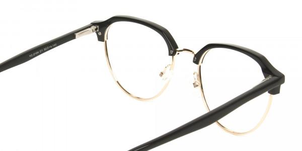 Black-Browline-wayfarer-Glasses-Frames-5