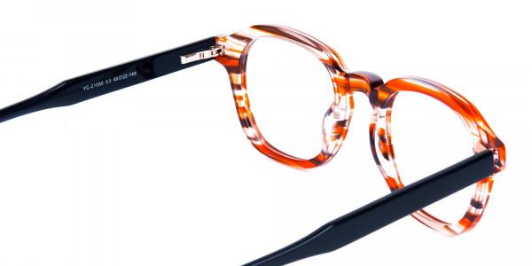 Crystal-and-Orange-Geometric-Glasses-5